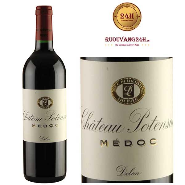 Rượu vang Chateau Potensac Medoc Cru Bourgeois