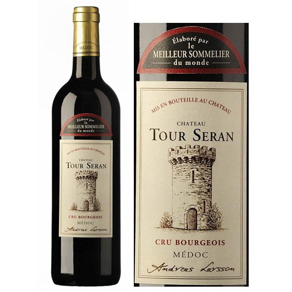 Rượu vang Chateau Tour Seran Medoc Cru Bourgeois