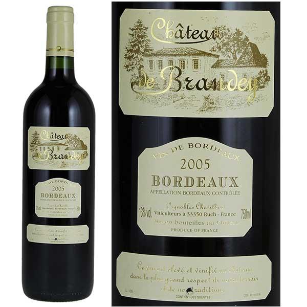 Rượu vang Chateau de Brandey Bordeaux