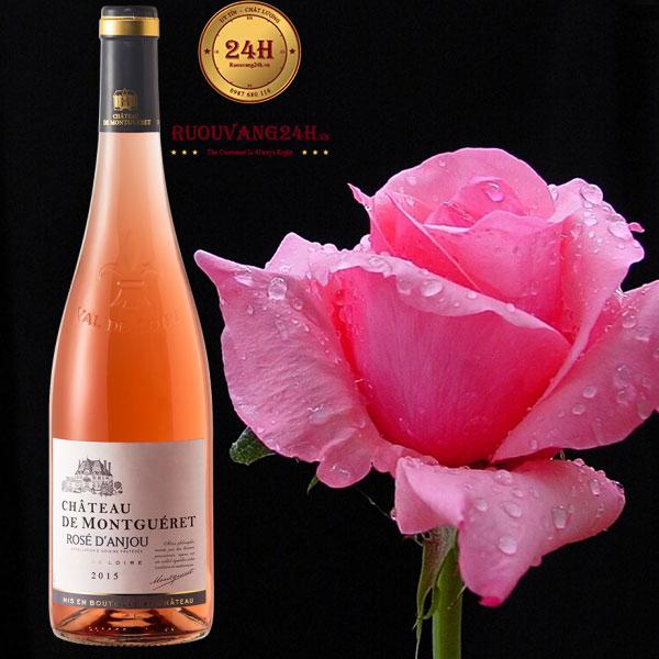 Rượu vang Chateau de Montgueret rose d'Anjou