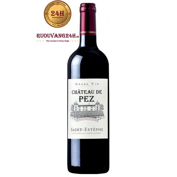 Rượu vang Chateau de Pez Cru Bourgeois