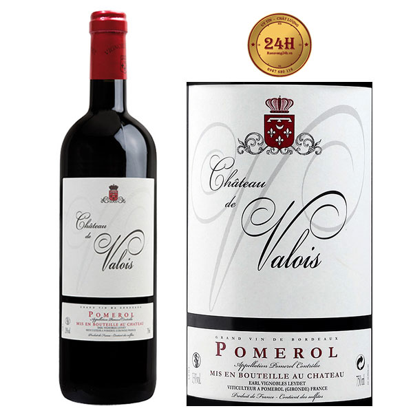 Rượu vang Chateau de Valois Pomerol