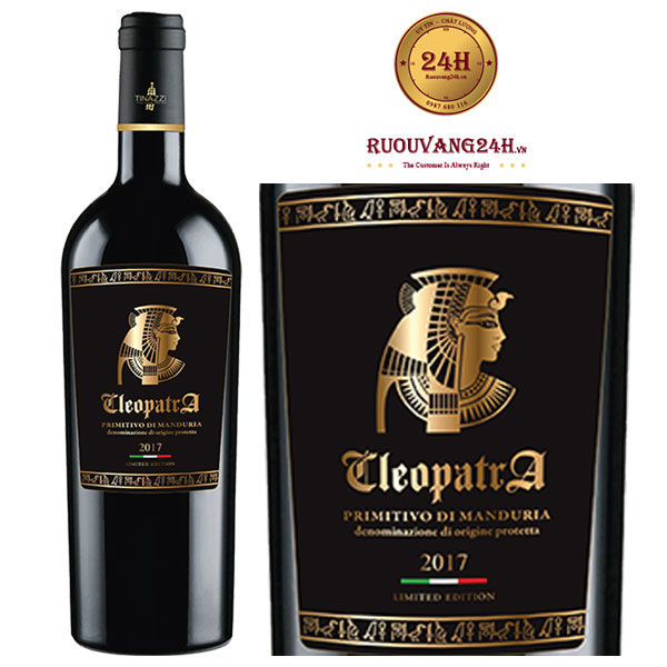Rượu vang Cleopatra Di Manduria Tinazzi