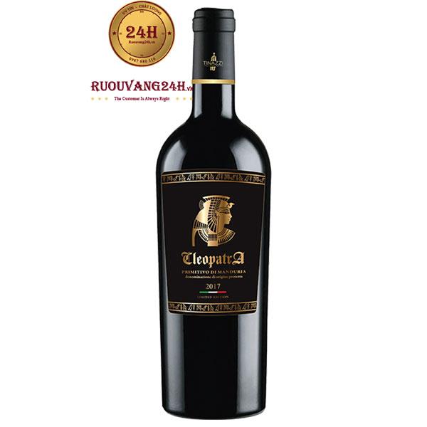 Rượu vang Cleopatra Primitivo Di Manduria Tinazzi