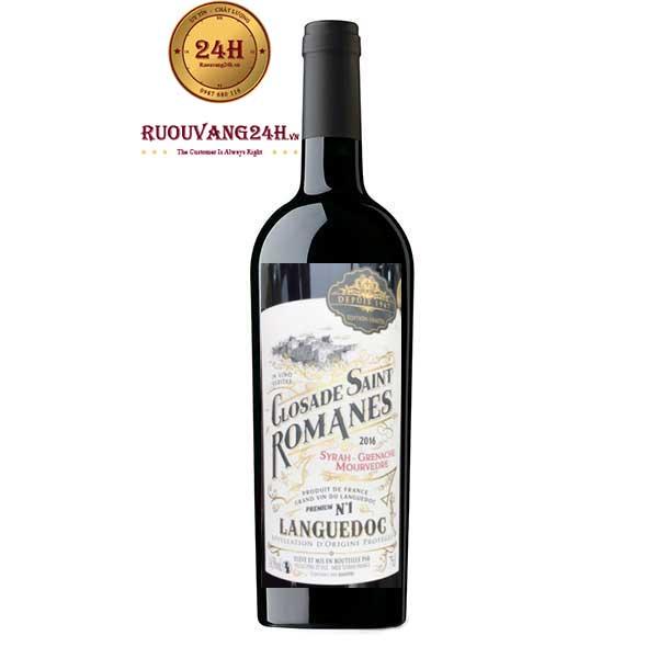 Rượu vang Closade Saint Romanes Languedoc