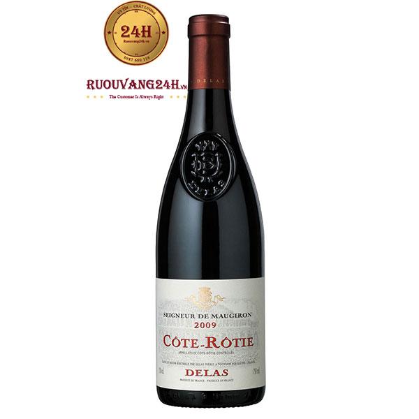 Rượu Vang Cote-Rotie Delas Seigneur De Maugiron Syrah