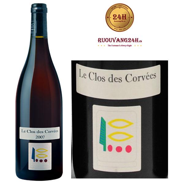 Rượu vang D.Prieuré-Roch Le Clos des Corvées