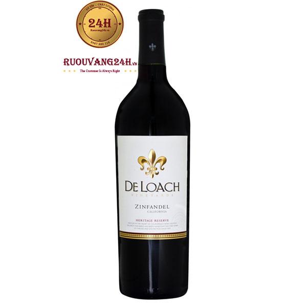 Rượu vang DeLoach Heritage Reserve Zinfandel