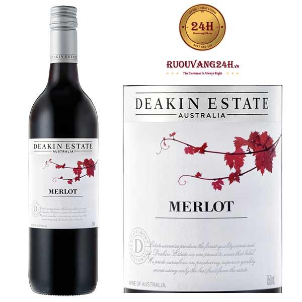 Rượu vang Deakin Estate Merlot