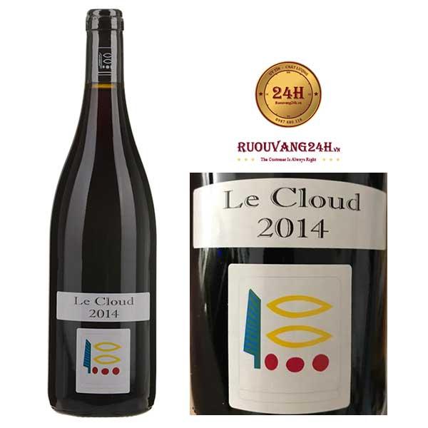 """Rượu vang Domaine Prieuré-Roch """"Le Cloud"""" Ladoix"""