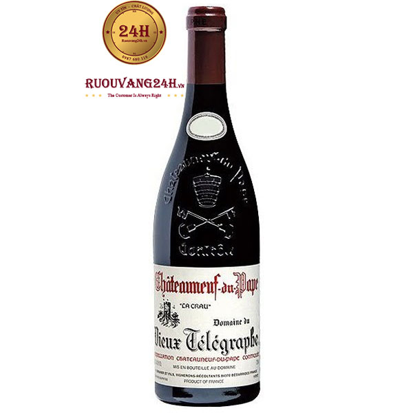 Rượu Vang Chateauneuf du Pape Telegraphe Red