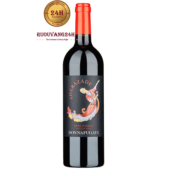 Rượu Vang Donnafugata Sherazade Sicillia Doc Nero D'Avola