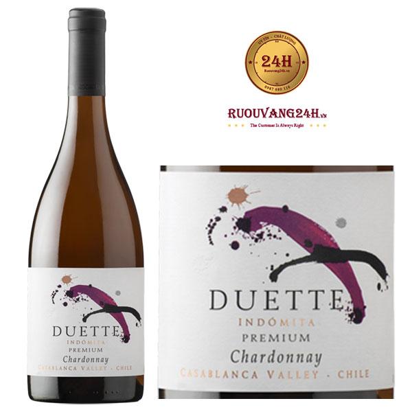 Rượu vang Duette Premium Chardonnay
