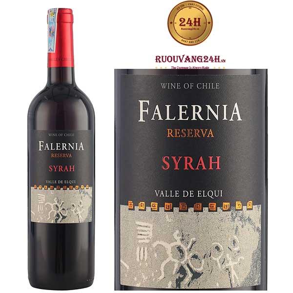 Rượu vang Falernla Syrah Reserva