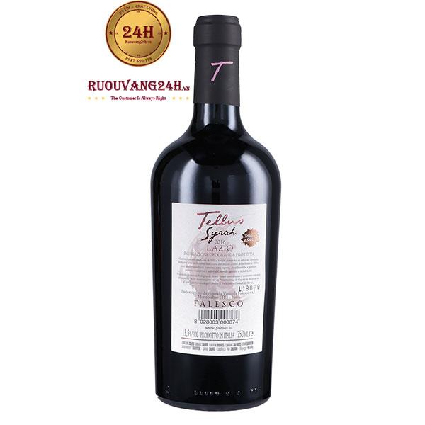 "Rượu vang Falesco ""Tellus"" Syrah Lazio IGP"