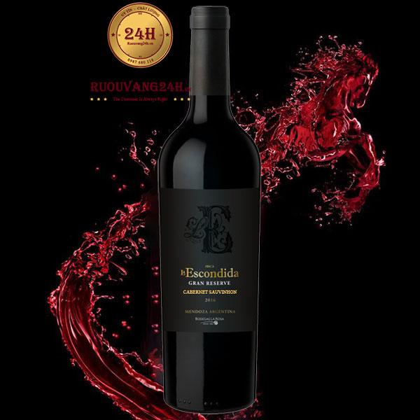 Rượu vang Finca La Escondida Grand Reserve Cabernet