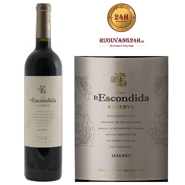 Rượu vang Finca La Escondida Grand Reserve Malbec
