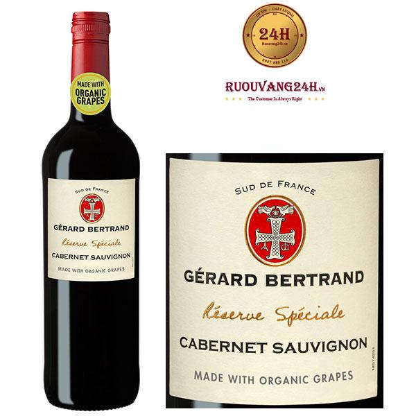 Rượu Vang Gerard Bertrand Reserve Speciale Cabernet Sauvignon