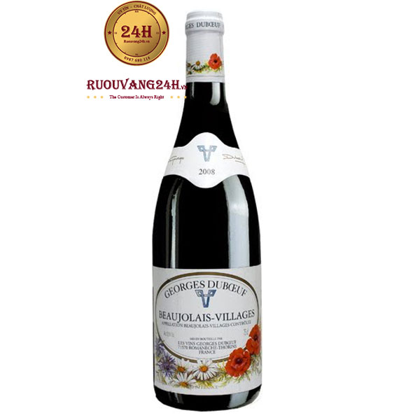 Rượu vang Georges Duboeuf Beaujolais-Villages