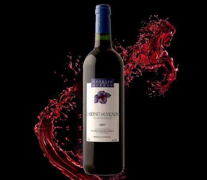 Rượu vang Georges Duboeuf Cabernet Sauvignon Pays d'Oc IGP