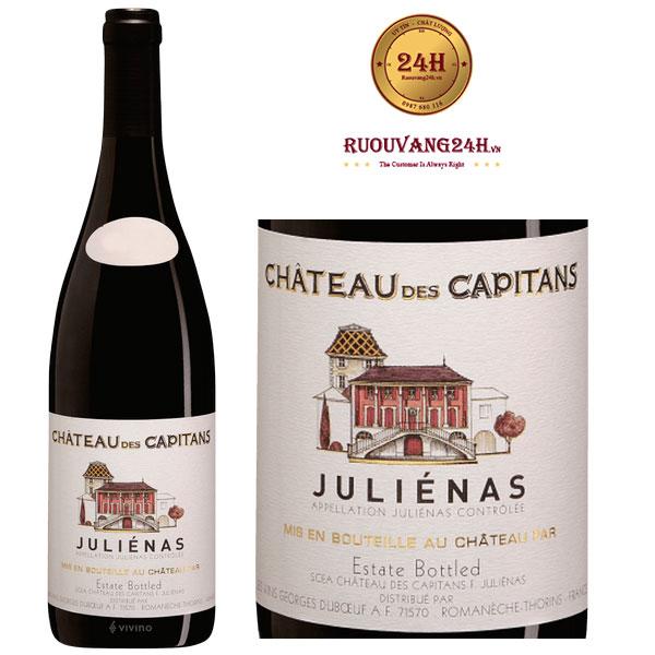 Rượu vang Georges Duboeuf Chateau des Capitans Julienas