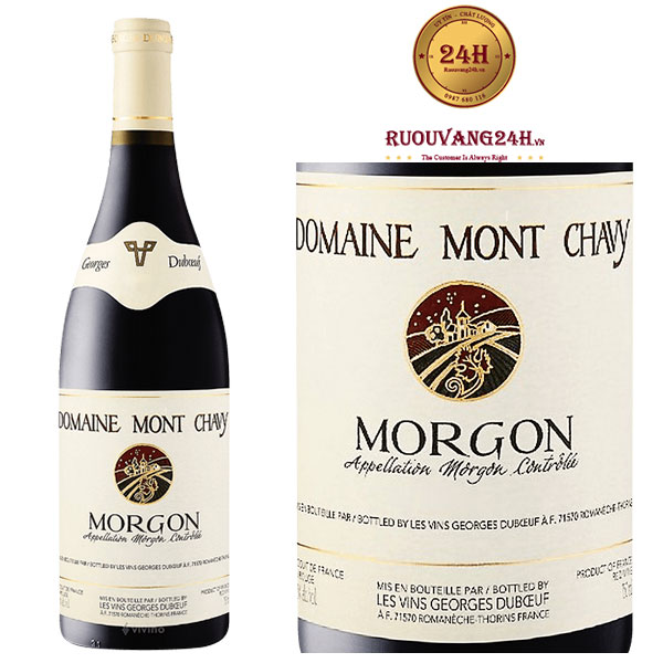 Rượu vang Georges Duboeuf Domaine Mont Chavy Morgon