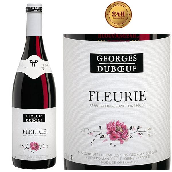 Rượu vang Georges Duboeuf Fleurie Cuvee Prestige