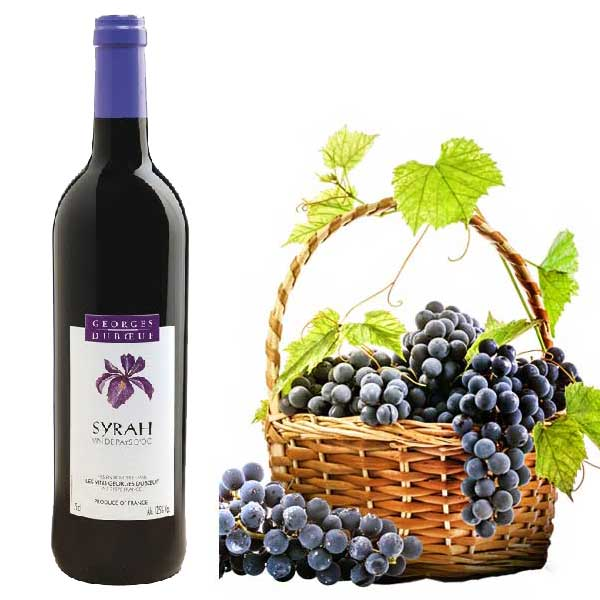 Rượu vang Georges Duboeuf Syrah Vin De Pays D'OC