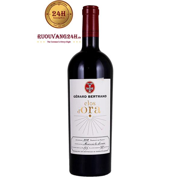 Rượu Vang Pháp Gerard Bertrand Clos D'Ora