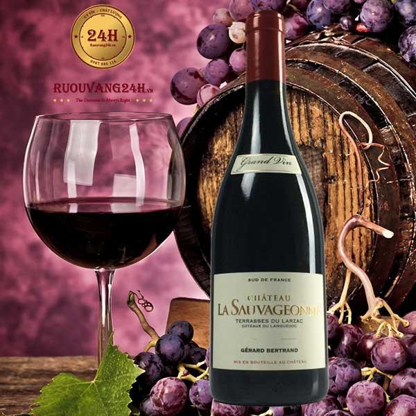 Rượu vang Gerard Bertrand Chataeu La Sauvageonne