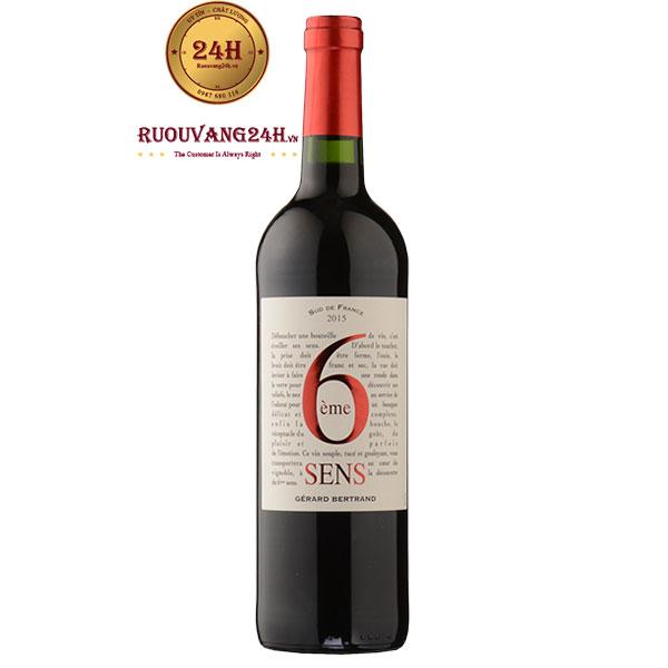Rượu Vang Gerard Bertrand 6eme Sens