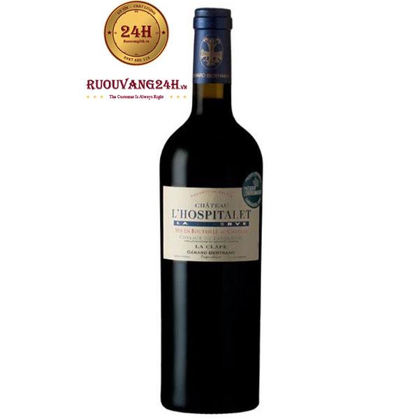 Rượu Vang Gerard Bertrand Chateau L'Hospitalet