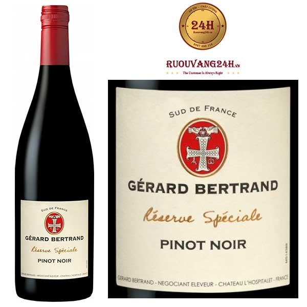 Rượu vang Gerard Bertrand Reserve Speciale Pinot Noir Pays d'Oc IGP