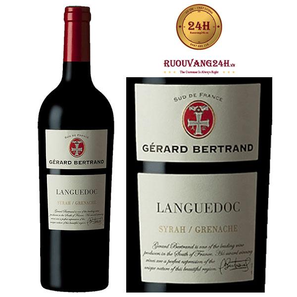 Rượu vang Gerard Bertrand Terroir Languedoc