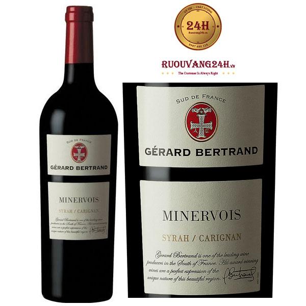 Rượu vang Gerard Bertrand Terroir Minervois