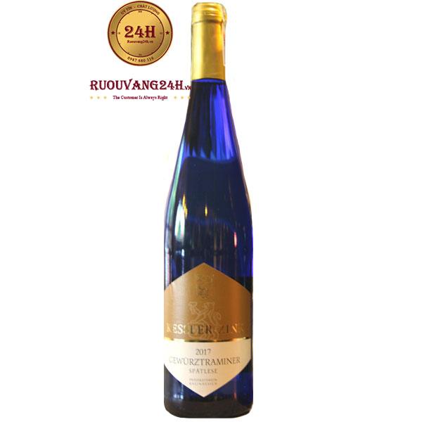 Rượu vang Gewürztraminer White wine sweet