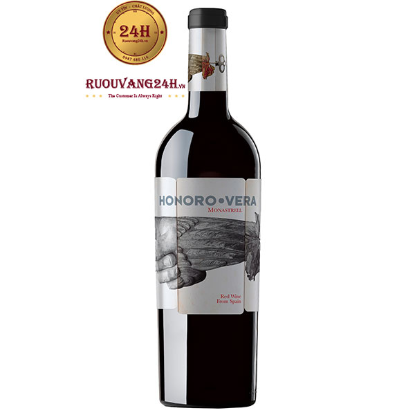 Rượu vang Honoro Vera Monastrell