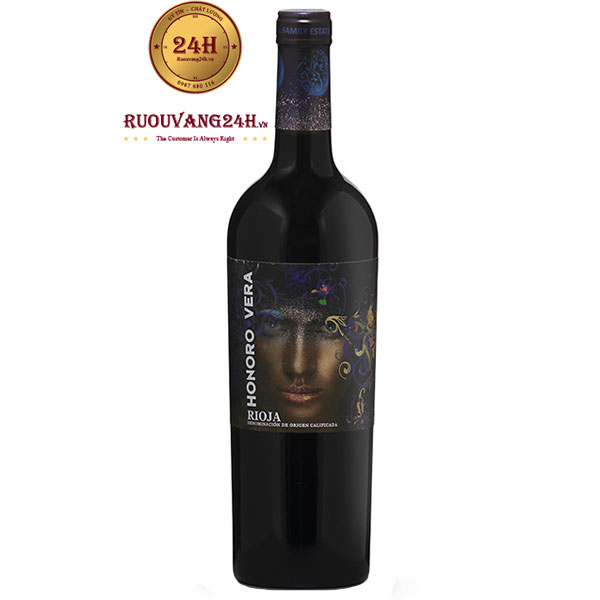 Rượu vang Honoro Vera Rioja
