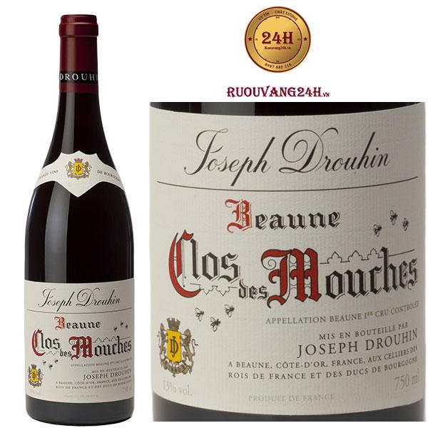 Rượu vang Joseph Drouhin Beaune Clos des Mouches 1er Cru
