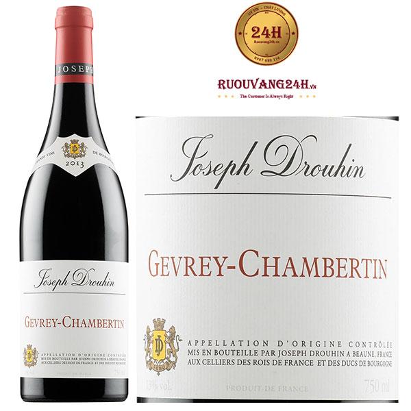 Rượu vang Joseph Drouhin Gevrey-Chambertin