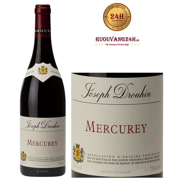 Rượu vang Joseph Drouhin Mercurey