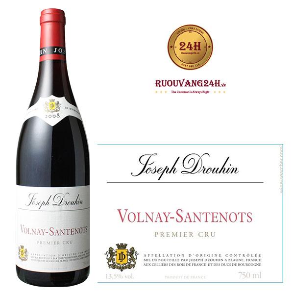 Rượu vang Joseph Drouhin Volnay Santenots 1er Cru