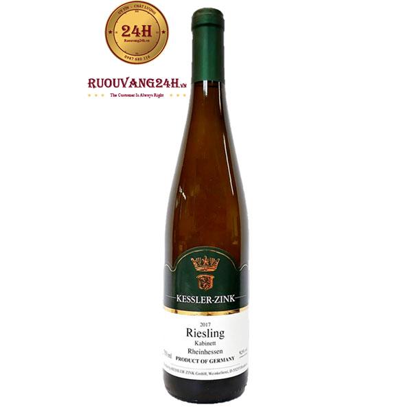 Rượu Vang Kessler Zink Riesling Kabinett Rheinhessen