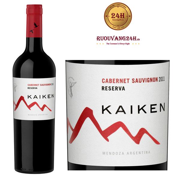 Rượu vang Kaiken Reserve Cabernet Sauvignon