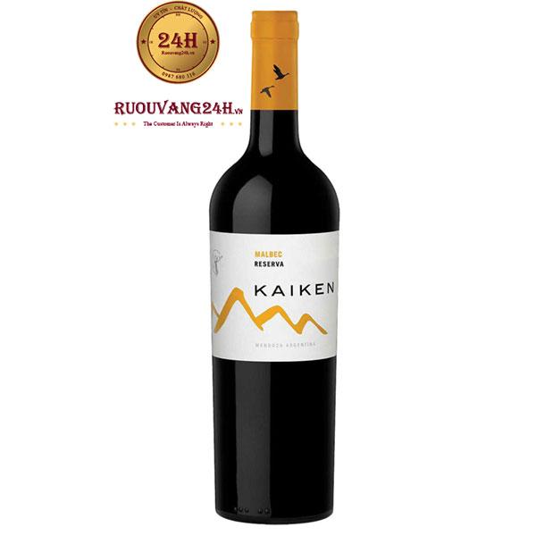 Rượu vang Kaiken Reserve Malbec