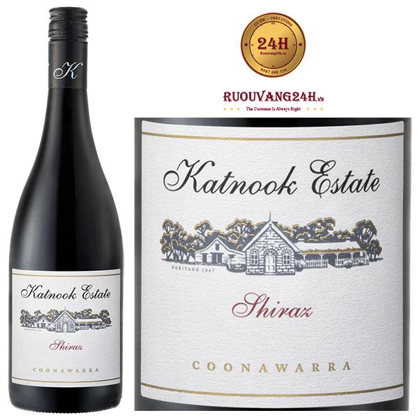 Rượu vang Katnook Estate Shiraz