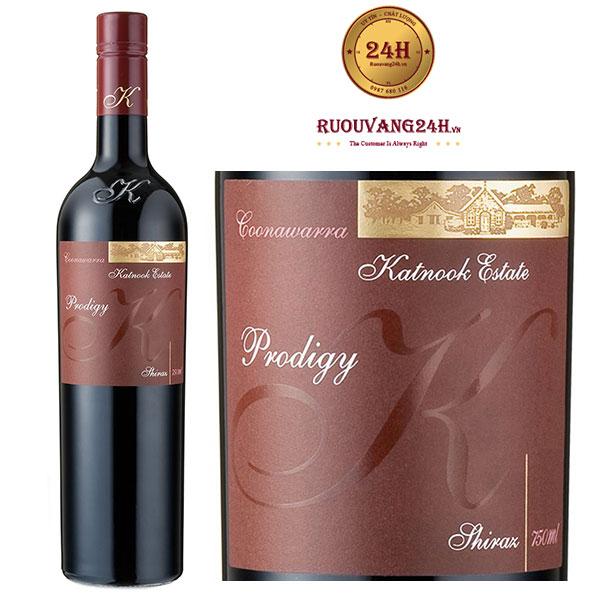 Rượu vang Katnook Prodigy Shiraz