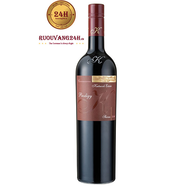 "Rượu vang Katnook ""Prodigy"" Shiraz"