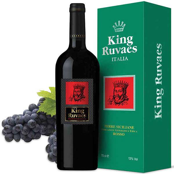 Rượu vang King Ruvaes Mác Đỏ