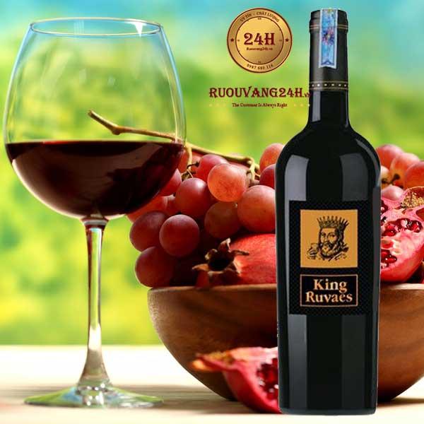 Rượu vang King Ruvaes Mác Vàng